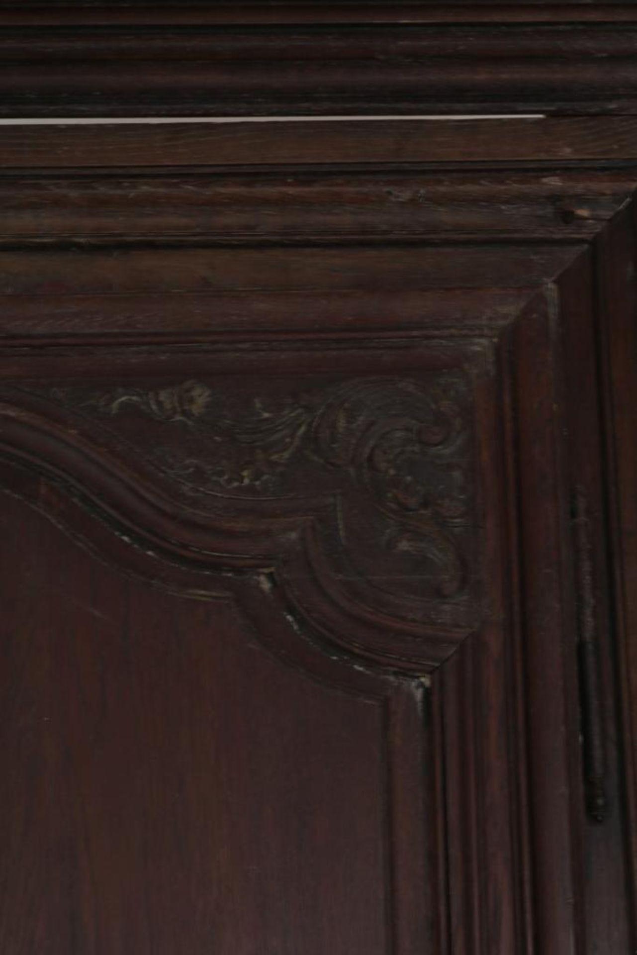 Eiken linnenkast met deur, Frankrijk - Bild 2 aus 4