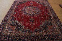 Tapijt, Esfahan 370 x 295 cm.