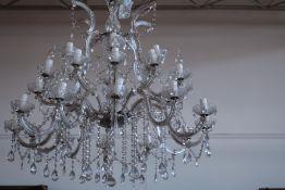 Venetiaanse-stijl hangkroon met pegels