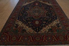 Tapijt, Heriz 405 x 300 cm.