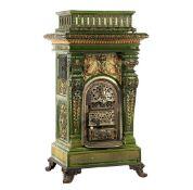 German Meissen Jugendstil fireplace