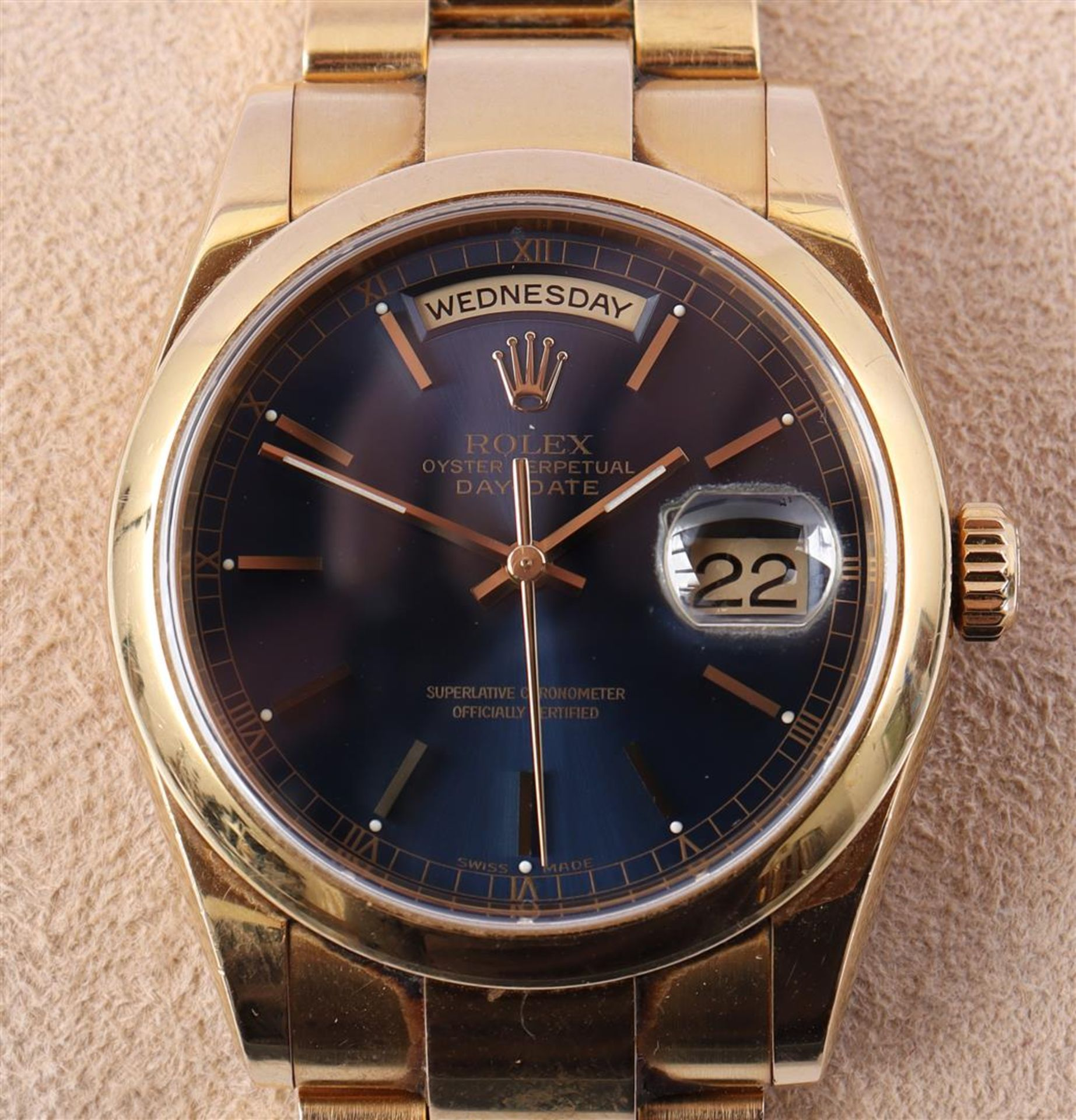 Rolex Oyster Perpetual Day Date men's wristwatch - Image 2 of 5