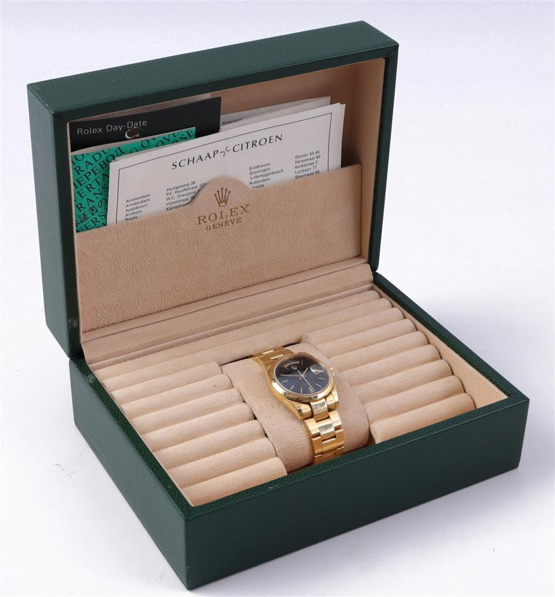 Rolex Oyster Perpetual Day Date men's wristwatch - Image 4 of 5