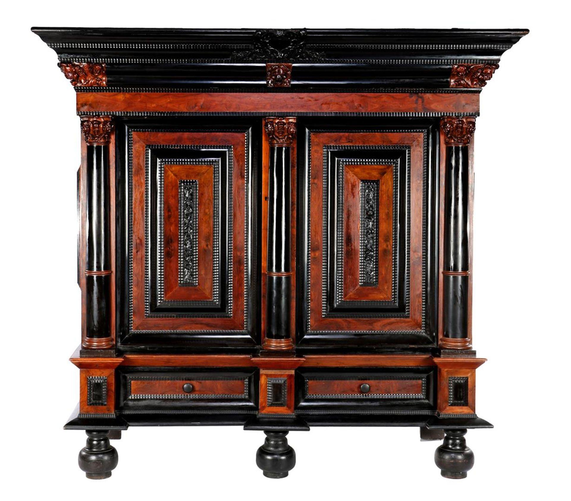 Baroque cushion cabinet