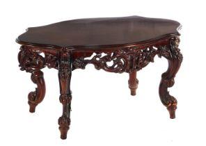Walnut color coffee table