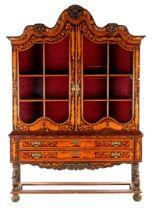 Louis Quinze style cabinet