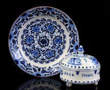 Delft blue and Makkum