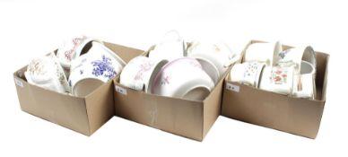 14 earthenware pots
