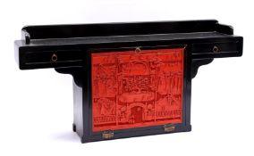Oriental piece of furniture