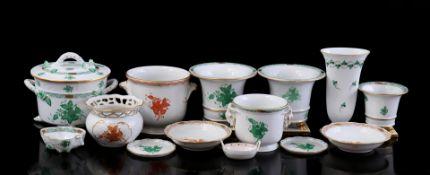 14x Herend porcelain