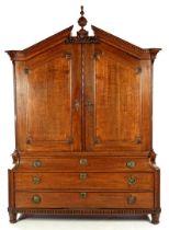 Oak Empire cabinet