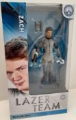 X 20 BRAND NEW RARE LAZER TEAM ROOSTER TEETH ZACH FIGURES, INDIVIDUALLY SEALED. TOTAL RRP £499.80