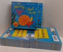 X 4 BRAND NEW VERY RARE SETS OF THE SHARING A SHELL SONG. TOTAL RRP £396