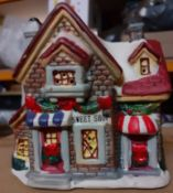 X 72 BRAND NEW PORCELAIN XMAS COLLECTIBLE