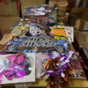 LARGE QUANTITY OF ALLOWEEN STOCK OVER 80 PIECES ALL NEW.