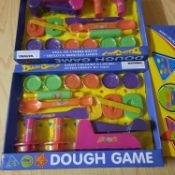 X 12 BRAND NEW DOUH GAME IN VARIOUS COLOURS AND SHAPES.