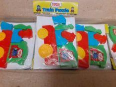 X 50 BRAND NEW THOMAS & FRIENDS TRAIN PUZZLES.