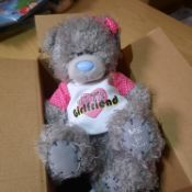 X 9 BRAND NEW WITH LOVE FROM ME TO YOU CUTE GIRLFRIEND TEAD BEARS. TOTAL RRP £90