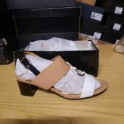 NEW & BOXED CAMEL SWISH LADIES SHOES SIZE UK - 8/ EU - 41 COLLECTION BY WALLIS. RRP £39