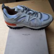 BOXED AND NEW WHITE ADAM TRAIL TRAINER GENTLEMANS SHOES SIZE UK - 12/ EU - 46/ US -13 BY TOPMAN. RRP