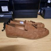 NEW & BAGUED BROWN PIPER GENTLEMANS SHOES SIZE UK - 10/ EU - 44/ US - 11 BY TOPMAN. RRP £34.99