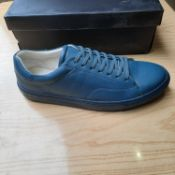 NEW & BOXED TEAL PERRY TRAINER GENTLEMANS SHOES SIZE UK - 12/ EU - 46/ US -13 BY TOPMAN. RRP £49.99