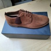 BOXED AND NEW DESERT LONDON COLA SUEDE SHOES SIZE UK - 12/ EU - 47. RRP £95
