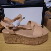 NEW & BAGUED LADIES SHOES SIZE UK - 6/ EU - 39/ COLLECTION BY TOPSHOP. RRP £36