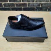 NEW & BOXED BLACK BEDD BROGUE GENTLEMANS SHOES SIZE UK - 9/ EU - 43/ US -10 BY TOPMAN. RRP £39.99