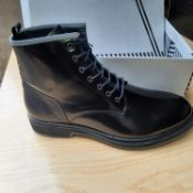 NEW & BOXED BLACK WRIGHT BOOT GENTLEMANS SHOES SIZE UK - 12/ EU - 46/ US -13 BY S L SHOELAB. LDN.