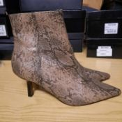 NEW & BAGUED MACI WITH A ZIPP LADIES BOOTS SIZE UK - 8/ EU - 41/ US - 10.5 COLLECTION BY TOPSHOP.