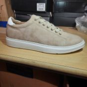 NEW & BAGUED BEIGE DRILL TRAINERS SIZES UK - 10/ EU - 44/ US - 11. RRP £39