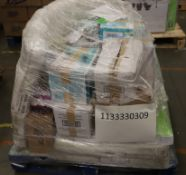 Mixed Pallet of 42 items, Brands include Munchkin, Chicco & Babyway.Total RRP Approx £890.79