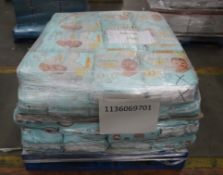 Mixed Pallet of 63 x Pampers Premium. Total RRP Approx £588.50