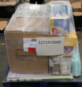 Mixed Pallet of 93 items, Brands include Joie & Tommee Tippee. Total RRP Approx £1289.57