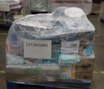 Mixed Pallet of 99 items, Brands include Pampers & Superpaws. RRP Approx £1306