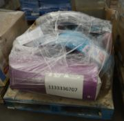Mixed Pallet of 18 items, Brands include Nuby, Skip Hop & Pampers.Total RRP Approx £490.00