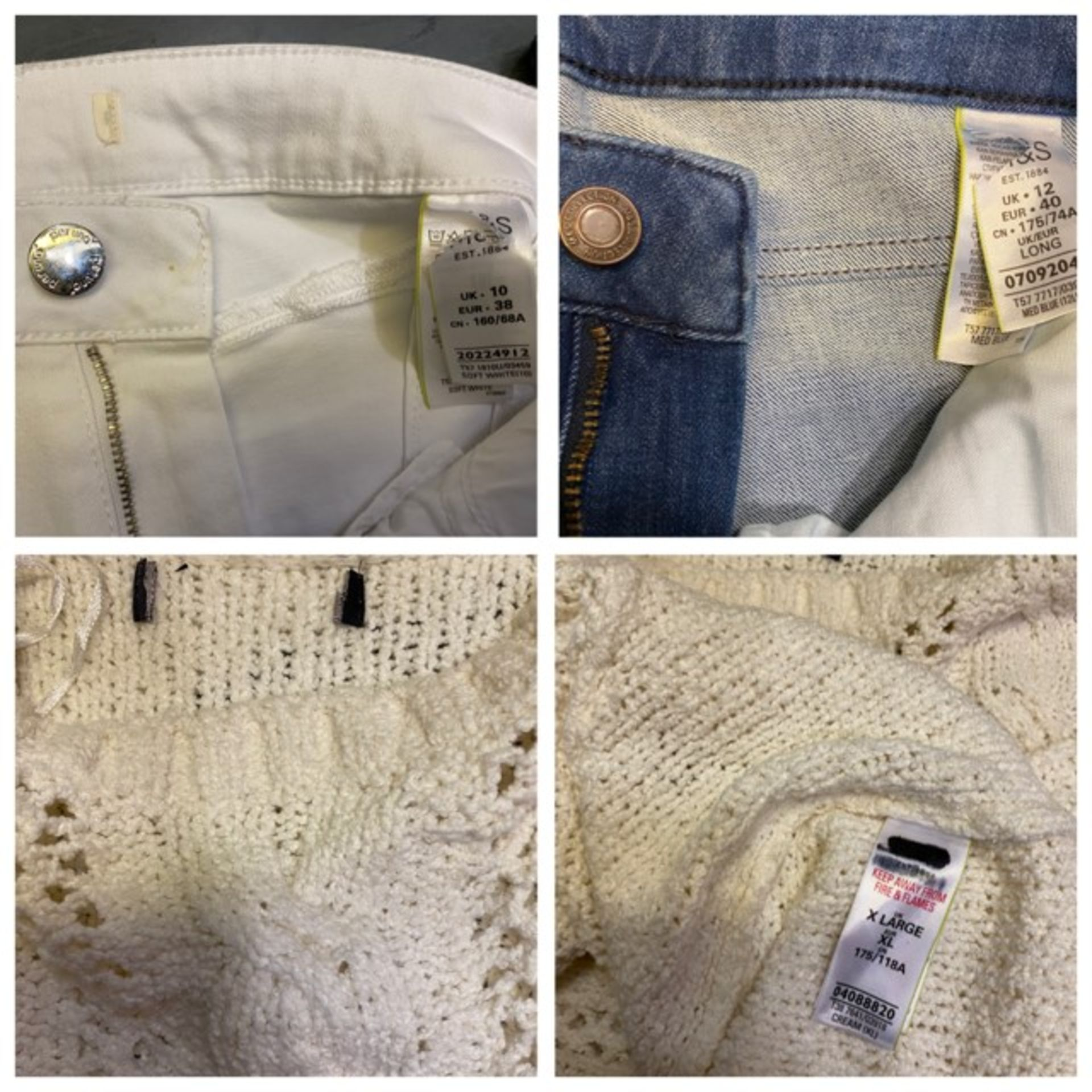 1 x mixed pallet = 94 items of Grade A M&S Menswear Clothing. Total RRP £2574 - Image 12 of 13