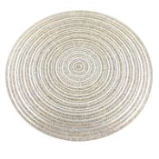 Pallet of 158 x GOLD GLITTER CANDLE PLATE 18CM. Total Approx RRP £474.00