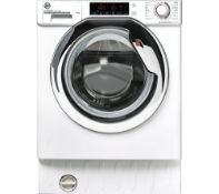 Pallet of Mixed Laundry Goods. Brands include HOTPOINT, BEKO, HOOVER. Latest selling price £1448.00