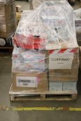 Mixed Pallet of 430 items, Brands include La Roche & Bulldog . Total RRP Approx £4815.65