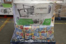 Mixed Pallet of 17 items, Brands include DUALFIX & Pampers. Total RRP Approx £963