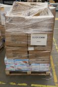 Mixed Pallet of 687 items, Brands include Fisher Price & Sunna. Total RRP Approx £8,214