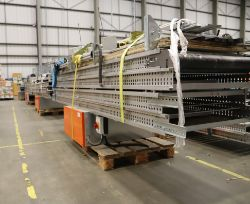Surplus items of Industrial Warehouse machinery and equipment.