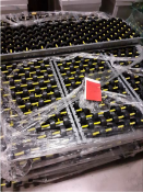 27 Sections of Roller Racking shelves – Flow Racks – USED