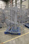 Multi-level Spiral slide conveyor system - Used.