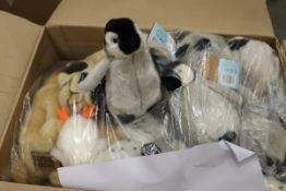 Mixed box of 26 x Plush Toys. Approx total RRP £264