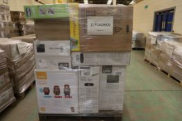 Mixed Pallet = 17 Baby items, Brands include Gemm & Maxi-cosi. Total RRP Approx £1911