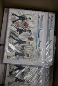 Box of Lady Jane 4 Pack Xmas Cards. Approx total RRP £148