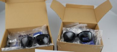 Mixed Lot = a total of 20 INVU Sunglasses. Approximate RRP £840